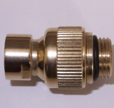 Fixed Shower Head Swivel Joint - Gold Effect - 50103811
